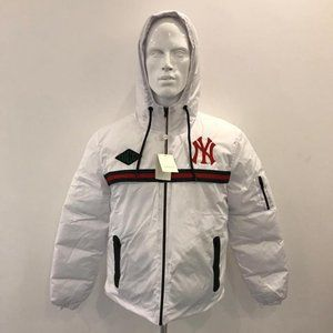 CASUAL PUFFER JACKET MEN NWT WHITE COLOR